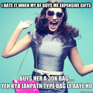 janpath Seven Types of Delhi Girls