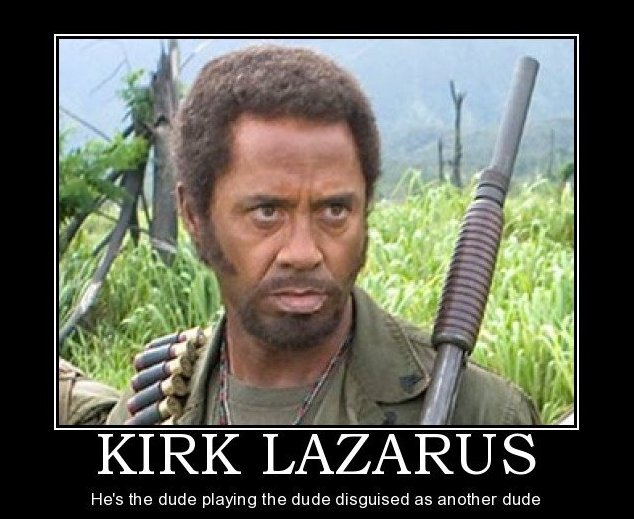 Kirk Lazarus Pictures News Information From The Web