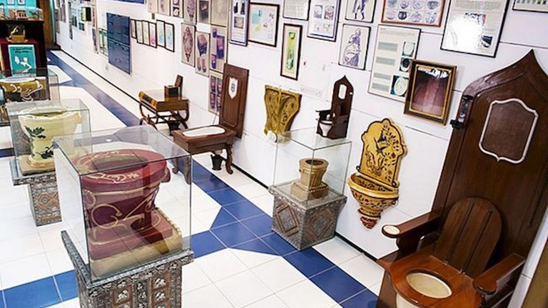 Sulabh International Museum of Toilets, Delhi, India - one of the weirdest museums in the world