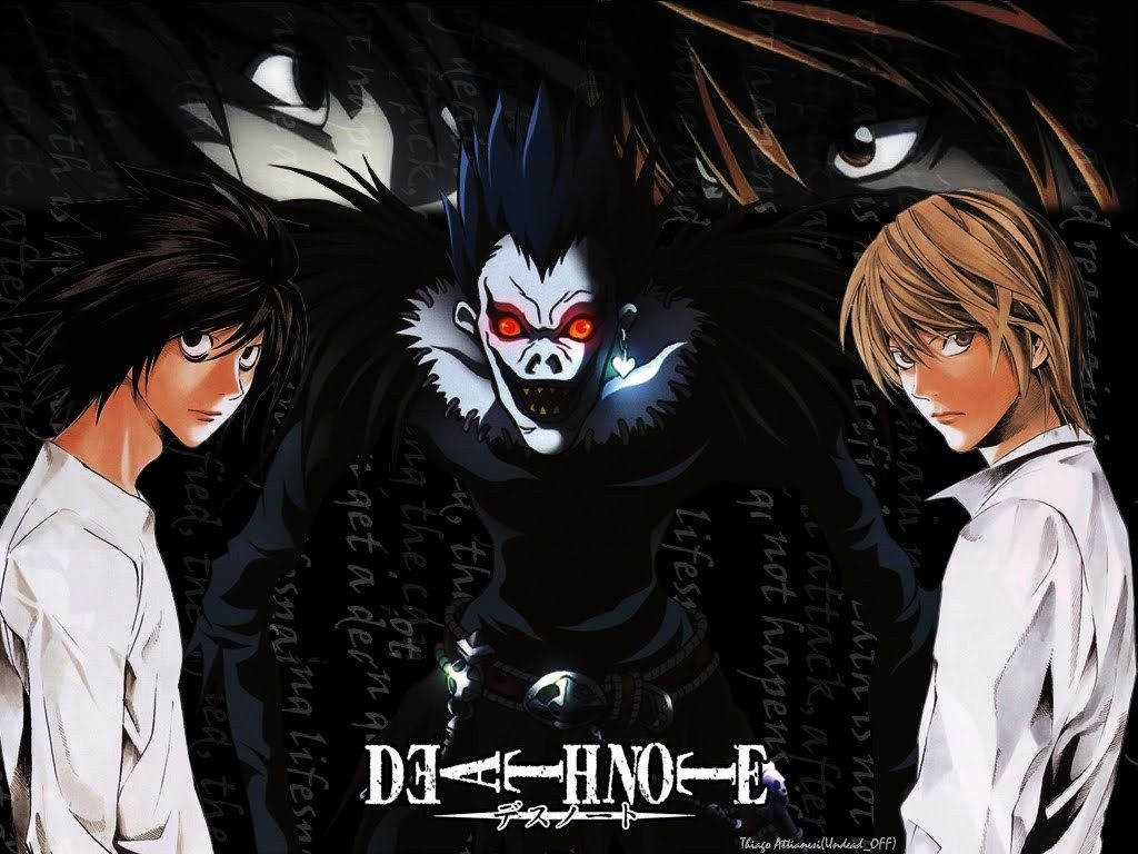 Death Note Japanese Anime Series