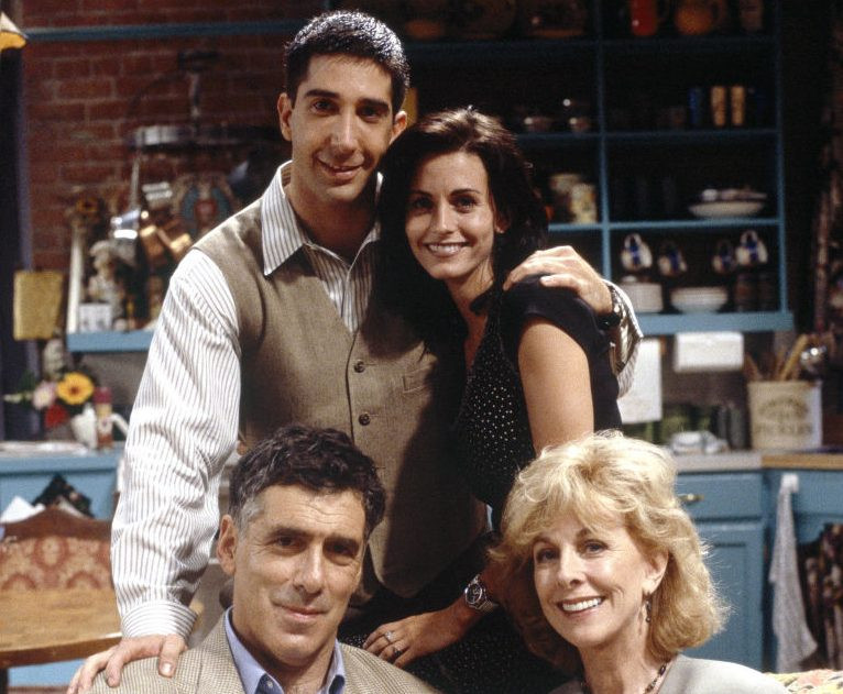 Elliott Gould And Christina Pickles As Jack And Judy Geller