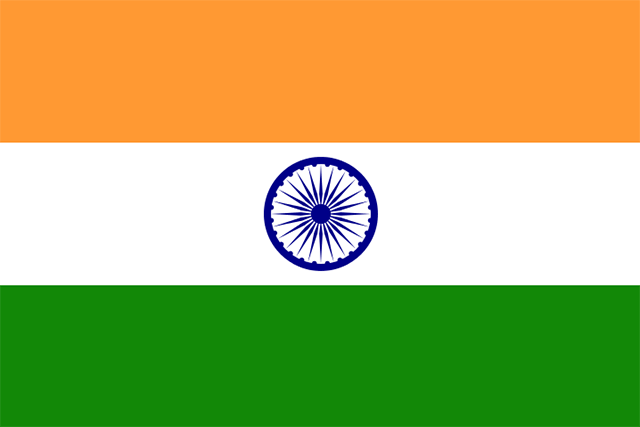 The Present Tricolour Flag of India - The National Flag of India